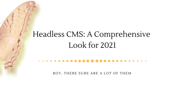 It's Raining Headless CMS Systems