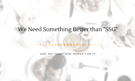 jamstack needs a new name